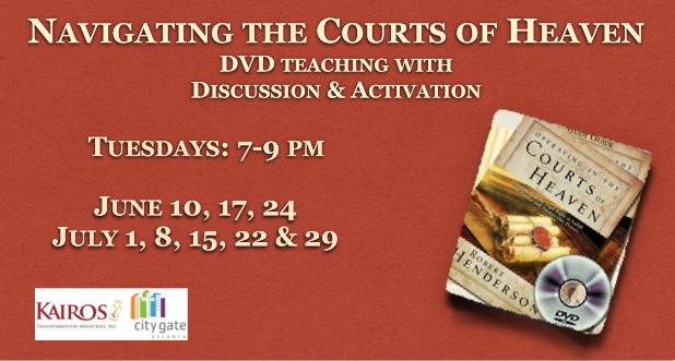 Calendar: : Navigating the Courts of Heaven Teaching